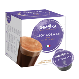 Gimoka Cioccolata Puro Aroma Dolce Gusto kompatibilis forró csokoládé kapszula (16db)