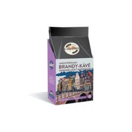 """Cafe Frei """"Amszterdami brandy"""" karamellizált naranccsal pörkölt szemes kávé 125g"""