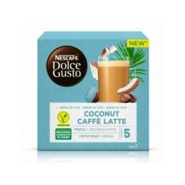 Nescafe Coconut Caffé Latte növényi alapú kókuszos Dolce Gusto kávékapszula (12db)