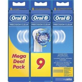 Oral-B EB20-9 Precision Clean elektromos fogkefe pótfej (9db)
