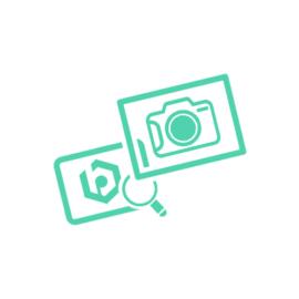 PureMe újrahasználható, állítható 100% vászon filteres gyerek maszk N95 robot mintás
