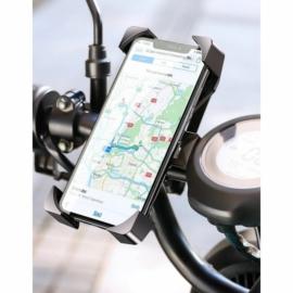 """Wozinsky kormányra rakható, állítható, 360 fokban forgatható biciklis telefon tartó - 4,7"""" - 6,5""""-ig, fekete"""
