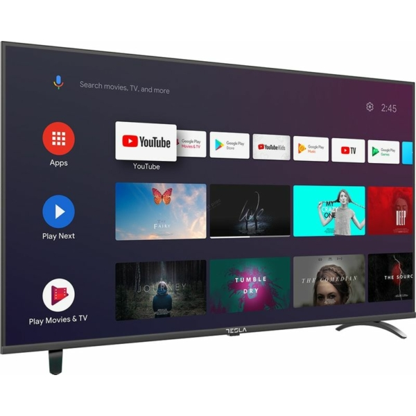 """Tesla 43"""" 43S605BFS Full HD Android TV9 TV"""