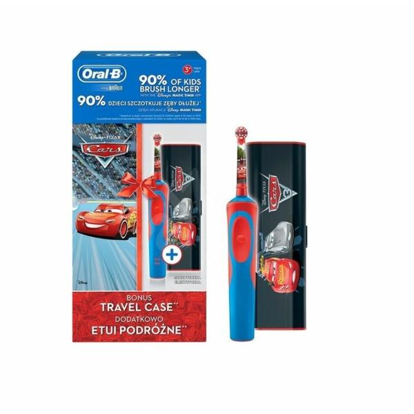 Oral-B FOGKEFE D12.513 CARS - Verdák + ÚTITOK