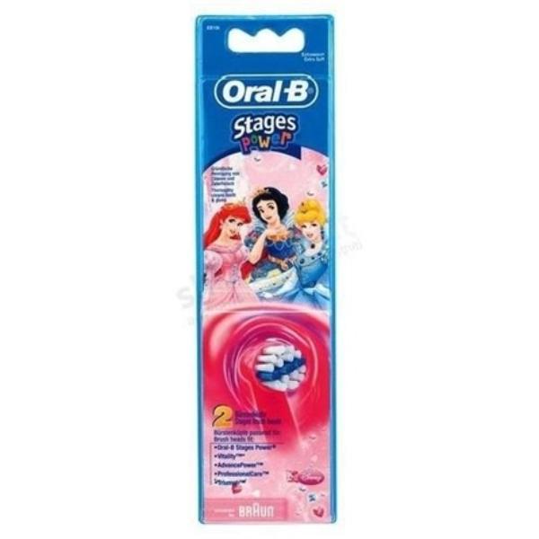 Oral-B EB10-2K Hercegnő elektromos fogkefe pótfej (2db)