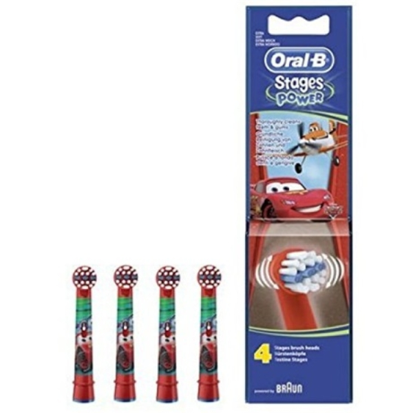 Oral-B EB10-4 Cars elektromos fogkefe pótfej (4db)