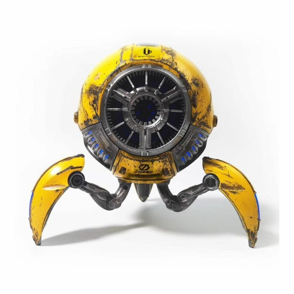 "Gravastar G1 Mars ""Háború sérült"" Bluetooth hangszóró 20W - sárga"