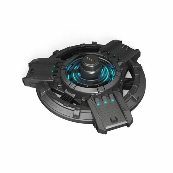Gravastar G1 Mars töltő dokkoló állomás USB Type-C kábellel - fekete
