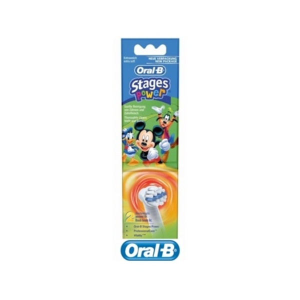 Oral-B EB10-2K Mickey Mouse elektromos fogkefe pótfej (2db)
