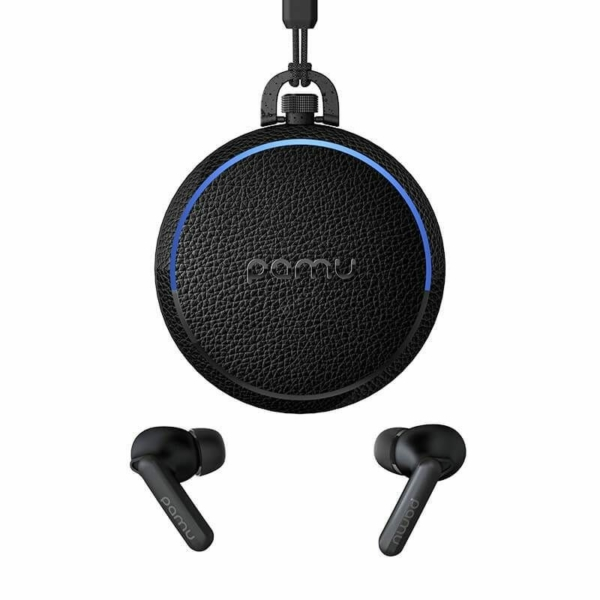 Padmate PaMu T10/QUIET ANC bluetooth vezeték nélküli headset zajszűrővel, töltőtokkal - fekete