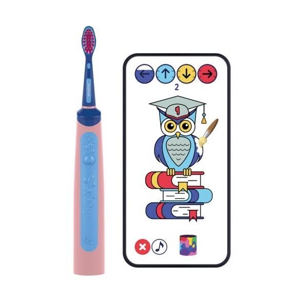 Playbrush Smart Sonic gyerek elektromos fogkefe - kék-rózsaszín