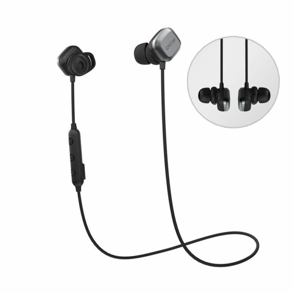 QCY M1 PRO Sport bluetooth headset fekete