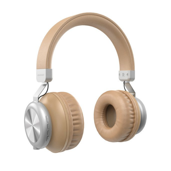 Dudao X22 On-Ear bluetooth vezeték nélküli fejhallgató - arany