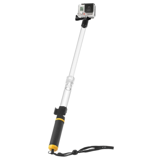 Float Selfie Pole szelfi monopod akciókamerákhoz