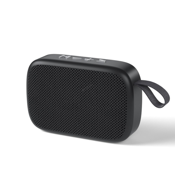 WK Design D20 bluetooth hordozható hangszóró - fekete