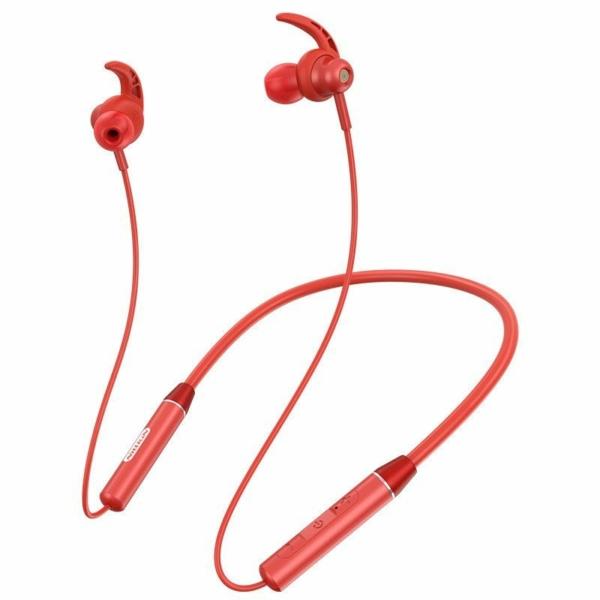 Nillkin E4 Soulmate IPX4 vezeték nélküli bluetooth headset - piros