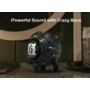 Kép 7/10 - Gravastar G2 Venus Bluetooth hangszóró 10W Shadow Black - fekete