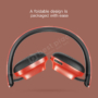 Kép 5/7 - Baseus Encok D01 Wireless Bluetooth fejhallgató piros