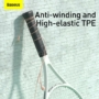Kép 12/14 - Baseus Encok H16 vezetékes headset rózsaszín