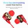 Kép 5/8 - Baseus Encok S10 dupla tekercses bluetooth headset piros