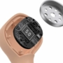 Kép 5/11 - Baseus Encok W06 TWS vezeték nélküli headset töltőtokkal - rózsaszín