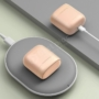 Kép 3/11 - Baseus Encok W06 TWS vezeték nélküli headset töltőtokkal - rózsaszín