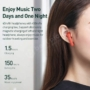 Kép 5/10 - Baseus Encok W09 TWS bluetooth vezeték nélküli fülhallgató - fekete