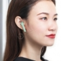 Kép 5/9 - Baseus Encok W09 TWS bluetooth vezeték nélküli fülhallgató zöld