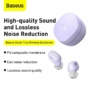 Kép 5/18 - Baseus Encok WM01 TWS vezeték nélküli fülhallgató lila