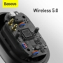 Kép 13/13 - Baseus Encok WM01 Plus TWS Bluetooth Wireless headset fekete