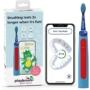 Kép 1/4 - Playbrush Smart Sonic gyerek elektromos fogkefe - kék-piros