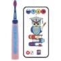 Kép 1/3 - Playbrush Smart Sonic gyerek elektromos fogkefe - kék-rózsaszín