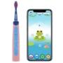 Kép 3/3 - Playbrush Smart Sonic gyerek elektromos fogkefe - kék-rózsaszín