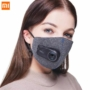 Kép 1/9 - Xiaomi Mi Purely Anti-Pollution Air Face Mask, arcmaszk szűrővel, 550 mAh akkumulátorral, szürke