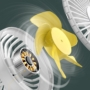 Kép 15/17 - Baseus Bingo hordozható és asztali akkumulátoros ventilátor - kék