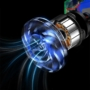 Kép 19/26 - Baseus Capsule mini vezeték nélküli akkumulátoros kézi autós porszívó - fekete