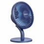 Kép 3/17 - Baseus Ocean Fan asztali ventilátor 2000mAh akkumulátorral - kék