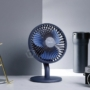 Kép 1/17 - Baseus Ocean Fan asztali ventilátor 2000mAh akkumulátorral - kék