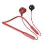 Kép 1/5 - Dudao U5 Plus nyakpántos vezeték nélküli bluetooth headset - piros