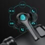 Kép 2/13 - Joyroom in-ear TWS gaming IPX5 bluetooth vezeték nélküli headset töltőtokkal - fekete
