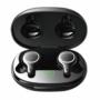 Kép 1/15 - Joyroom JR-T12 IPX5 TWS vezeték nélküli bluetooth headset töltőtokkal - fekete