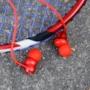Kép 8/9 - Nillkin E4 Soulmate IPX4 vezeték nélküli bluetooth headset - piros